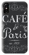 Le Petite Bistro 3 IPhone Case