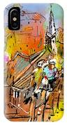 Le Tour De France 04 IPhone Case