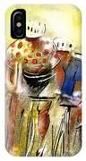 Le Tour De France 07 IPhone Case