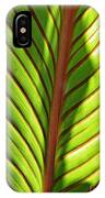 Leaf Abstract  23 IPhone Case
