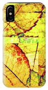 Leaf Abstract IPhone Case