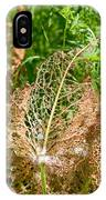 Leaf Eaten By Insects IPhone Case