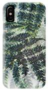 Leaf Patterns IPhone Case
