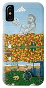 Leaf Peeping In Northern Maine IPhone Case