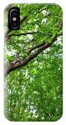 Leafy Canopy IPhone Case