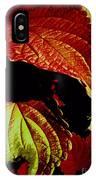 Leafy Melange IPhone Case