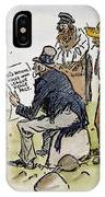 League Of Nations Cartoon IPhone Case