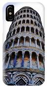 Leaning Tower Of Pisa In Tuscany, Italy IPhone Case