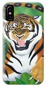 Leaping Tiger IPhone Case