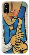 Learn To Work The Saxophone IPhone Case