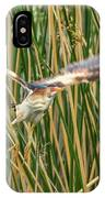 Least Bittern Flight IPhone Case
