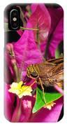 Least Skipper Butterfly IPhone Case