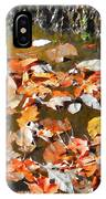 Leaves Are Falling IPhone Case