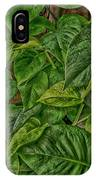 Leaves By The Way IPhone Case
