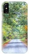 Leaves Changing In The Fall Near Collierville,tn IPhone Case