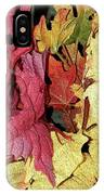 Leaves Fall IPhone Case