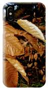Leaves In Late Autumn IPhone Case