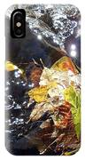 Leaves In River IPhone Case