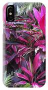 Leaves Of Pink IPhone Case