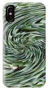 Leaves On Spin Cycle IPhone Case