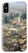 Leaving Las Vegas 3 IPhone Case