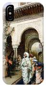 Leaving The Alhambra IPhone Case