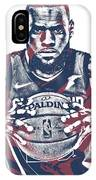 Lebron James Cleveland Cavaliers Pixel Art 54 IPhone Case