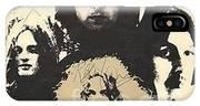 Led Zeppelin Autographed Album  IPhone X Case