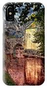 Leeds Castle Gatehouse And Moat IPhone Case
