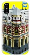 Lego Corner Shop And Apartments IPhone Case