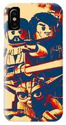 Lego Star Wars IIi The Clone Wars IPhone Case