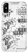 Lego Toy Building Brick Patent IPhone Case
