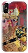 Legong Dancer IPhone Case