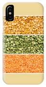 Legumes Triptych IPhone Case