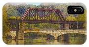 Lehigh River - Easton Pa IPhone Case