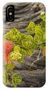 Lehua Flower IPhone Case