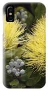 Lehua Mamo Blossom IPhone Case