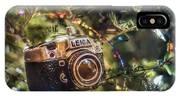 Leica Christmas IPhone Case