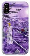 Lenore In Lavender Moonlight IPhone Case