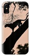 Leopard At Dusk IPhone Case