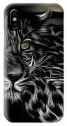 Leopard At Night IPhone Case
