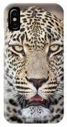 Leopard Close Up IPhone Case