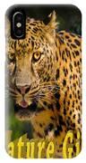 Leopard Nature Girl IPhone Case