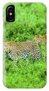 Leopard On The Move IPhone Case