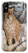 Leopard On The Rocks IPhone Case