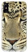 Leopard Panthera Pardus Female IPhone Case