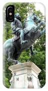 Leopold Statue IPhone Case