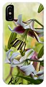 Leslie Woodriffe Lily IPhone Case