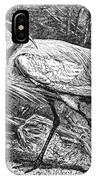 Lesser Egret IPhone Case