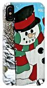 Let It Snow - Happy Holidays IPhone Case